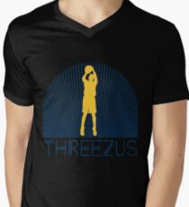 Threezus - Curry - (Threezus ver. 1) Men's V-Neck T-Shirt
