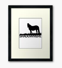 Shadowmere (Elder Scrolls) Framed Print