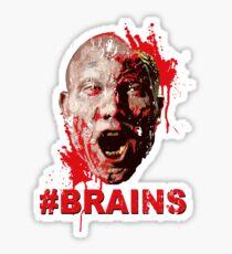 #BRAINS Sticker