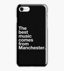 Manchester Music iPhone Case/Skin