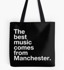 Manchester Music Tote Bag