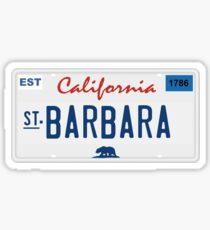 Santa Barbara - California.  Sticker