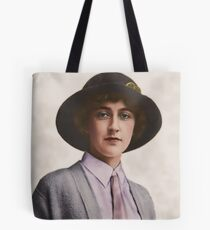 A Young Agatha Christie Tote Bag