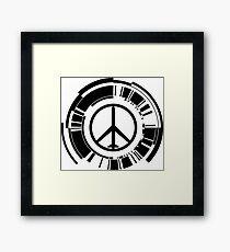MGS - Peace walker - Black Framed Print