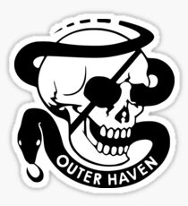 MGS - Outer Haven Skull Sticker