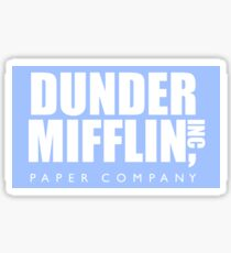 Pegatina brillante The Office Dunder Mifflin Paper Company