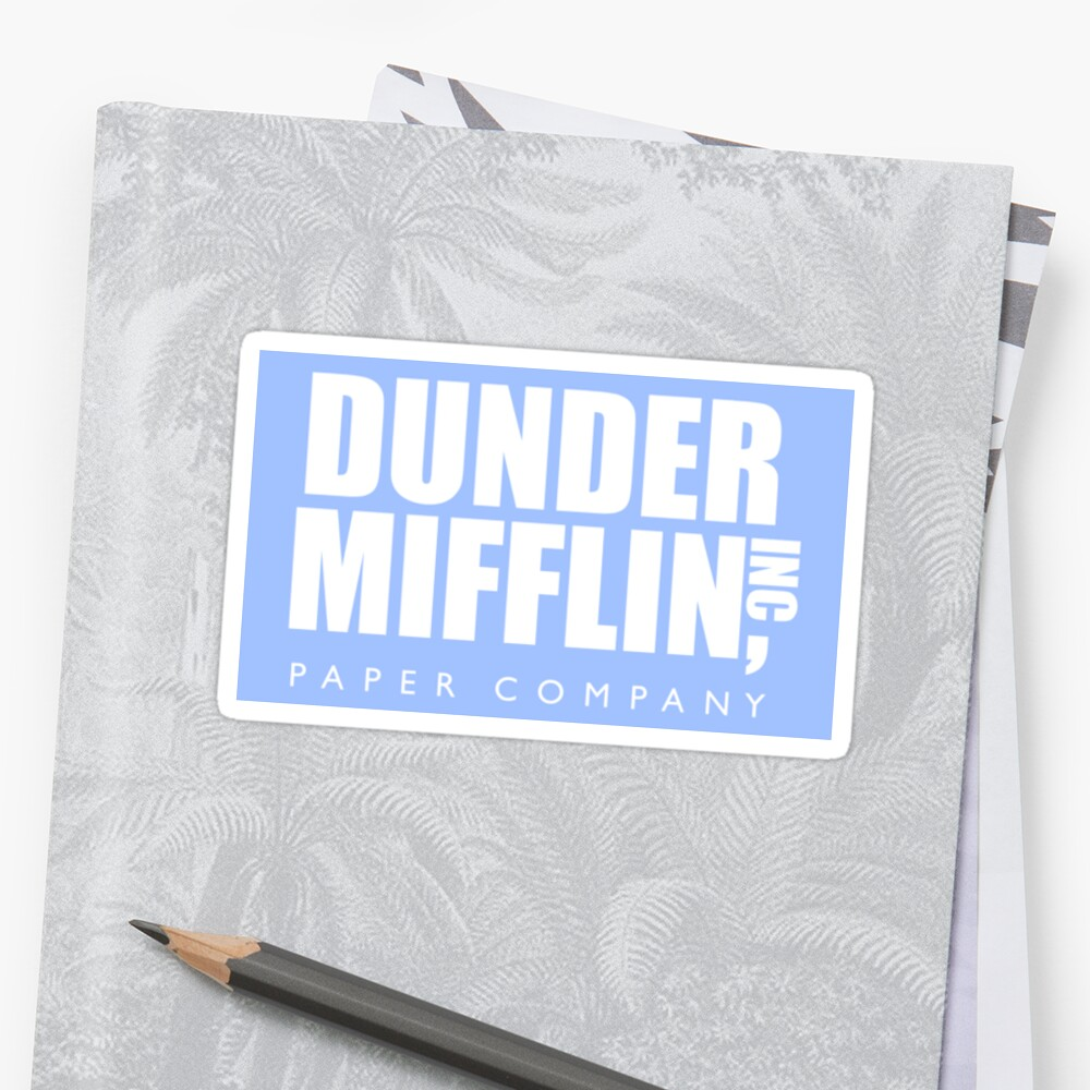 The Office Dunder Mifflin Paper Company by decentart