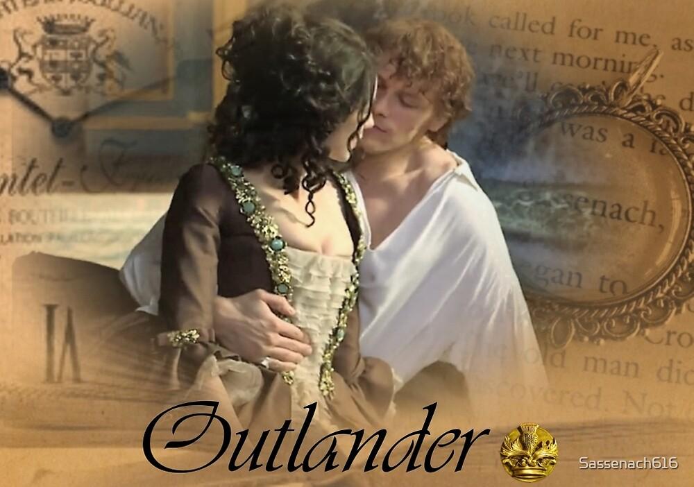 Outlander/Jamie & Claire Fraser/Diana Gabaldon by Sassenach616