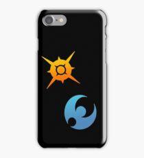 Pokemon Sun and Moon Symbols iPhone Case/Skin