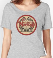Norton - distressed sign Women's Relaxed Fit T-Shirt