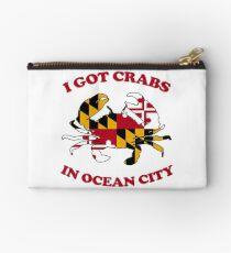 Ocean City Crabs Studio Pouch