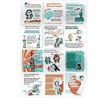 Aspergers Comic Poster Poster
