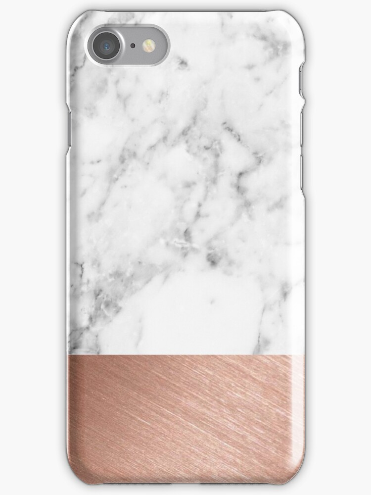 rose gold marble iphone cases amp skins by girlsbiteback