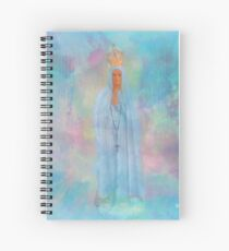 Blessed Mother Mary VIEW LARGER..THANK YOU Spiral Notebook