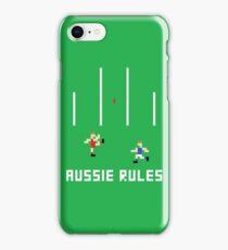 Aussie Rules Pixel iPhone Case/Skin