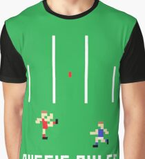 Aussie Rules Pixel Graphic T-Shirt