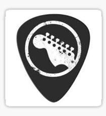 guitar pick Sticker