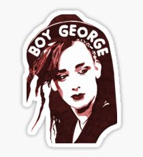 Boy George T-Shirt  Sticker