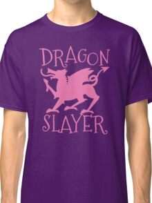 Dragon Slayer in pink Classic T-Shirt