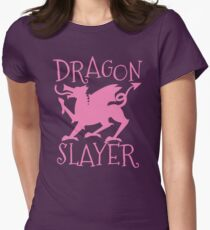 Dragon Slayer in pink T-Shirt