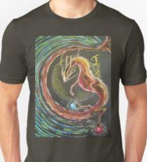 DRACHE - FEUERELEMENT Slim Fit T-Shirt