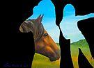 Horse Outside by Juhan Rodrik