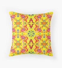 Indian Daytime Throw Pillow