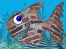 Brick Fish by Juhan Rodrik