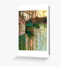 Egon Schiele ~ Schizzo per un Autoritratto Greeting Card