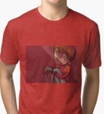 illustration of my window Tri-blend T-Shirt