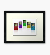 Modern Gameboy Design Framed Print