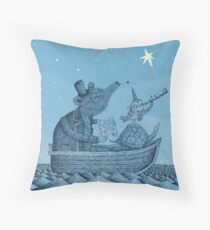 The North Star Throw Pillow