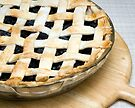 Blueberry Lattice Top Pie by wolftinz