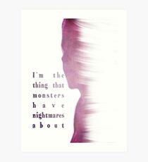 Buffy Summers - The Vampire Slayer Art Print