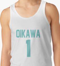 Haikyuu!! Oikawa Jersey Number 1 (Aoba) Tank Top