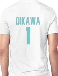 Haikyuu!! Oikawa Jersey Number 1 (Aoba) Unisex T-Shirt
