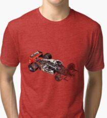 McLaren Porsche Tag Tri-blend T-Shirt