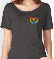 Love is Love (Gold) Women's Relaxed Fit T-Shirt