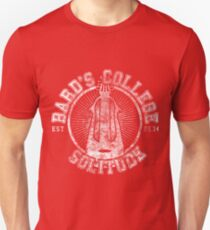 Bard's College - Skyrim - College Jersey T-Shirt