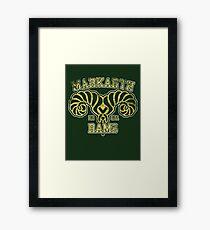 Markarth Rams - Skyrim - Football Jersey Framed Print