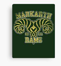 Markarth Rams - Skyrim - Football Jersey Canvas Print