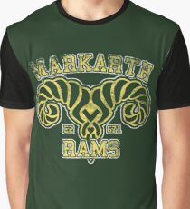 Markarth Rams - Skyrim - Football Jersey Graphic T-Shirt