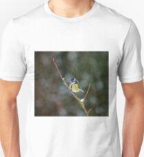 Blue Tit in Snow T-Shirt