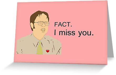 Fact i miss you custom for camila greeting cards by i miss you custom for camila by pickledbeets m4hsunfo