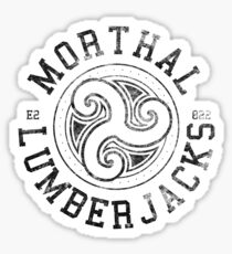 Morthal Lumberjacks - Skyrim - Football Jersey Sticker