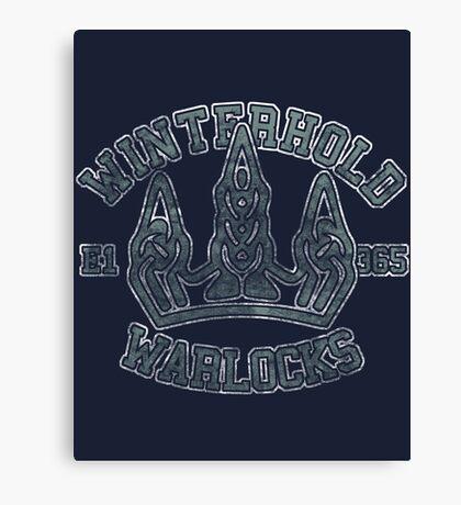 Winterhold Warlocks - Skyrim - Football Jersey Canvas Print