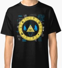 Camiseta clásica Gravity Falls - Bill Cipher Zodiac