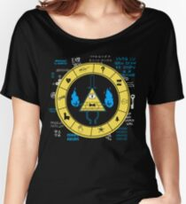 Gravity Falls - Bill Cipher Zodiac Women's Relaxed Fit T-Shirt