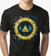 Gravity Falls - Bill Cipher Zodiac Tri-blend T-Shirt
