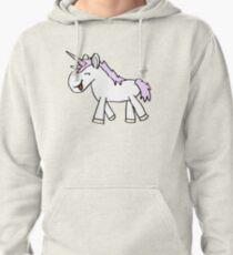 Slightly daft unicorn Pullover Hoodie